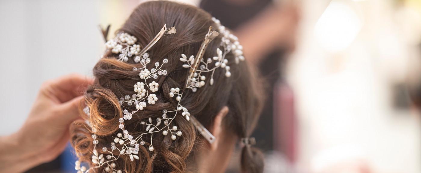 Svatební účes