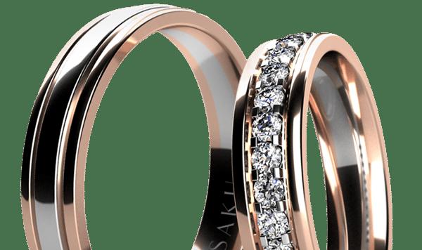Romantické snubní prsteny