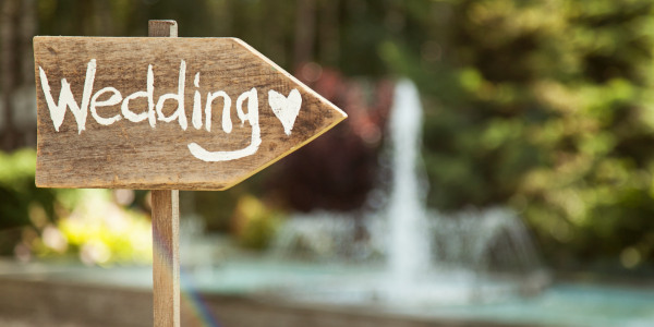 Místo na svatbu