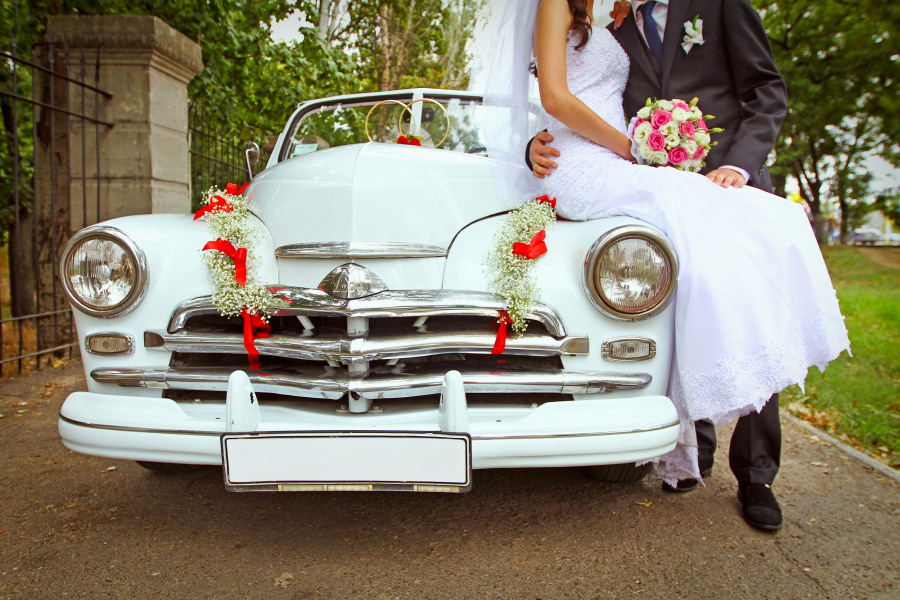 dodavatele PR-auto na svatbu
