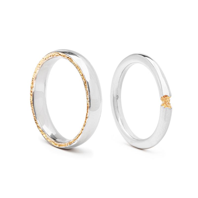 Designové snubní prsteny od Ondřeje Stáry