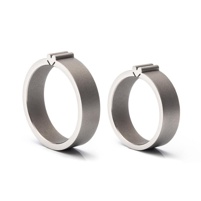 Designové snubní prsteny z duplexní chirurgické oceli od od JA-RA