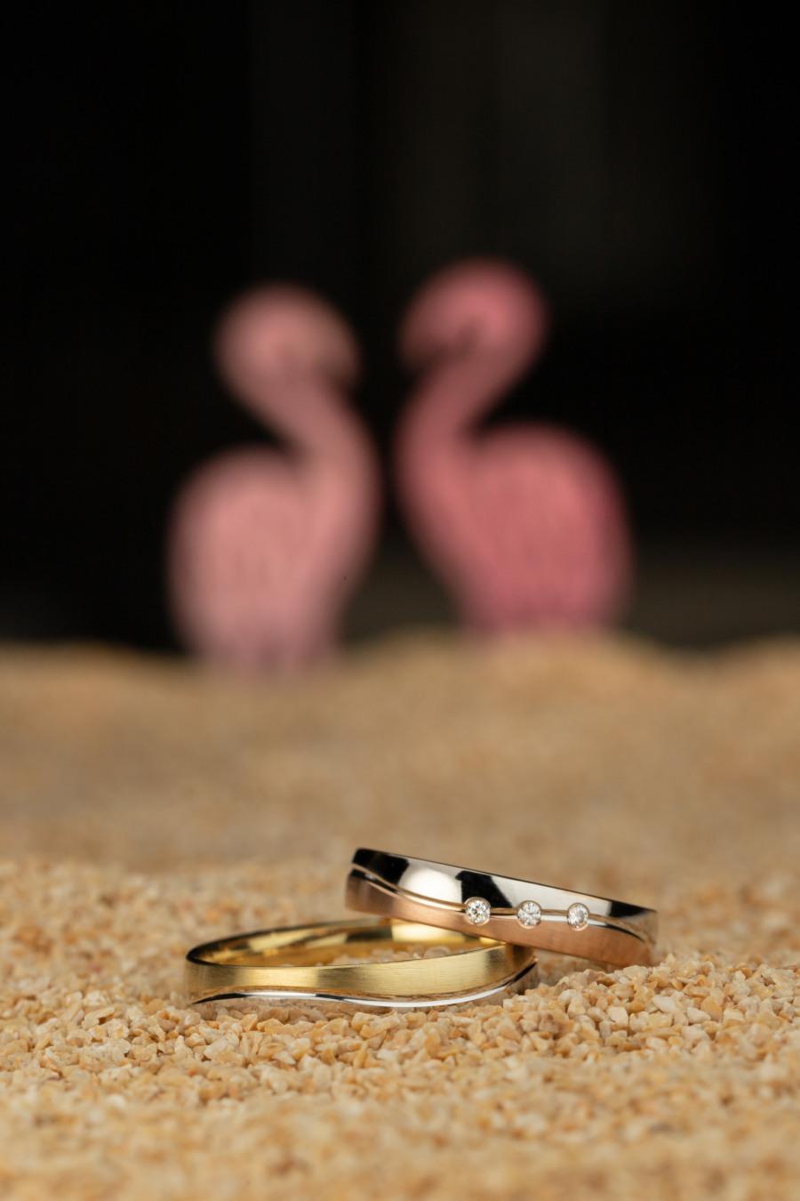 snubní prsteny DUO Luxur