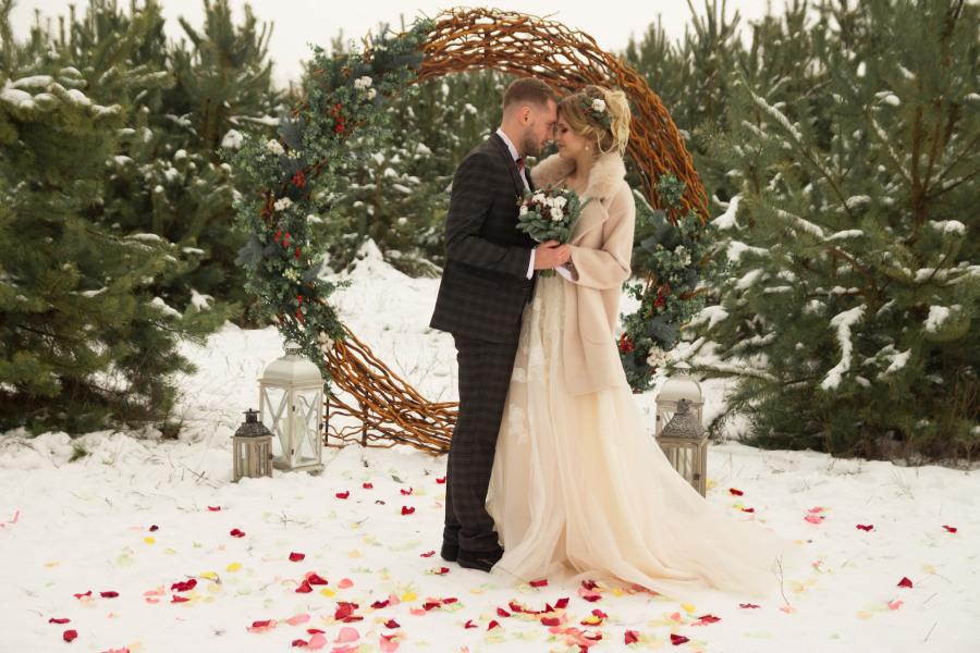 Zimní svatební obřad