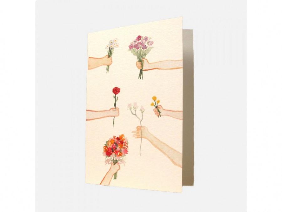 svatební přání kytice